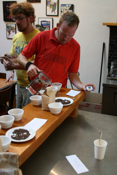 Coffee Cupping at HABIT CAFE & CULTURE