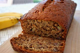 Banana bread with figs!