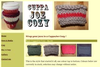 Save the environment - buy a coffee cozy by Cheryl