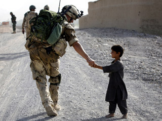 Doughtnuts and Good will to Afghanistan - Canadian mission