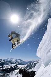 snowboarding cash flow downhill in Canada