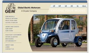 The Gem - my first electric car ride