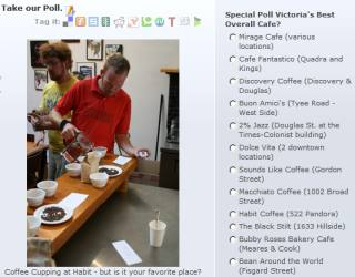 Vote for Victoria B.C.'s best cafe