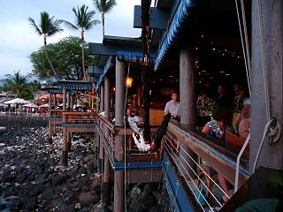 Huggos On Alii Drive in Kona - Now that s waterfront dining!