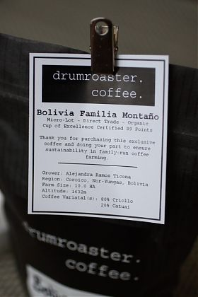 Bolivia Familia Montano Cup of Excellence