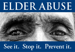 Lay off our seniors! Any kind of Elder abuse is BAD!