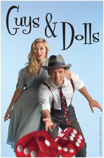 Guys and Dolls Chemainus Dinner theater big thumbs up