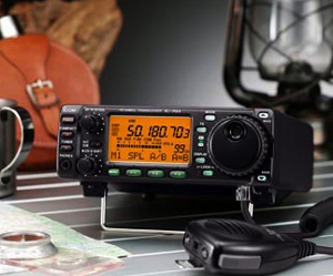 ICOM 703+ All Band Ham Transceiver