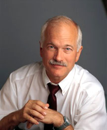 We are healing Jack Layton with positive thought.