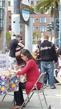 Ferry Building - outdoor market - eat outside - play outside