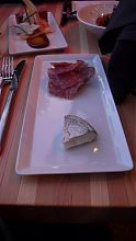 Salami and cheese at Vis-a-vis on Oak Bay