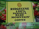 Ridgelyne Jamaica Blue Mountain