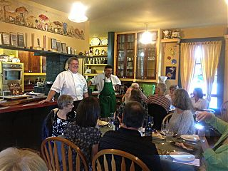 Learning while Eating with Chef Bill Jones and Don Genova