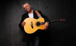 Guitar picker Tommy Emmanuel