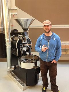 Aaron Tann of Second Crack Coffee Lab Victoria