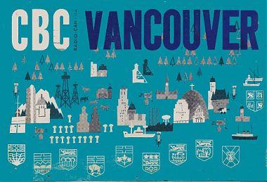 CBC SW Service B.C. 6160 khz