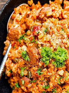 Oyster Chicken and Sausage Jambalaya