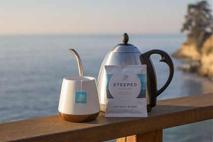 Steeped Coffee - yes, it's new