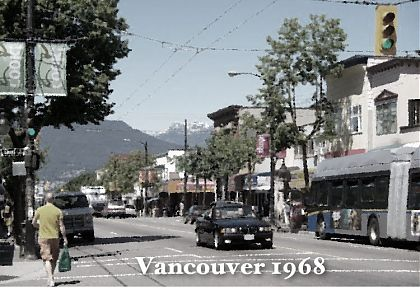 Vancouver - commercial drive - 1968