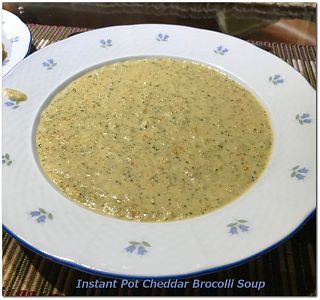 Instant Post Broccoli Cheddar Soup