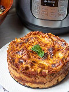 Instant Pot Lasagna 2019